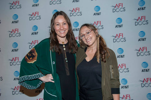 Tina Brown and Dyana Winkler in Icon Style jewelry at AFI Docs