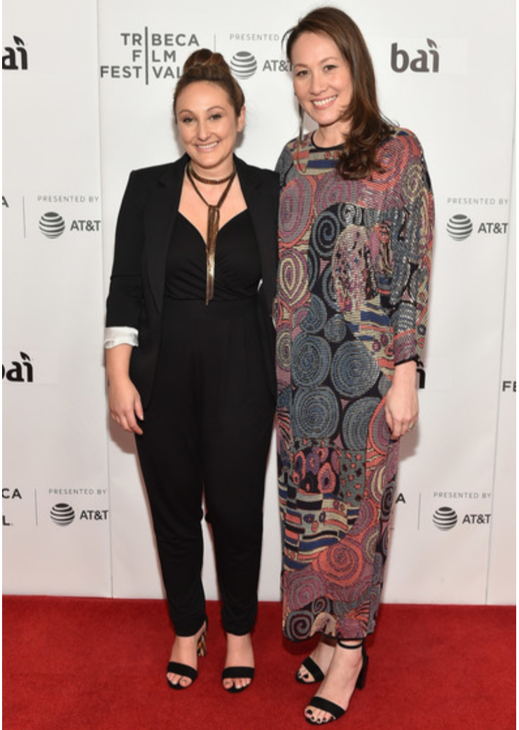 Tina Brown & Dyana Winkler wearing Icon Style