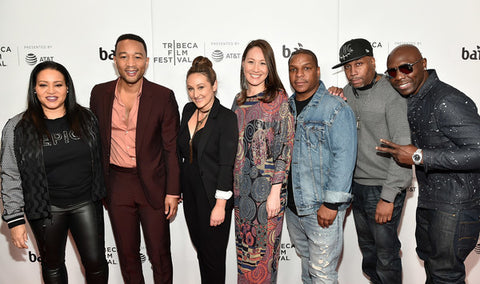 Cheryl James, John Legend, Dyana Winkler, Tina Brown, Vin Rock, Rob Base