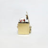 1940s 14k Gold Mechanical Jack-in-the Box Enamel Charm