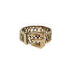 Circa 1900 Late Victorian English 9k Gold Buckle Ring