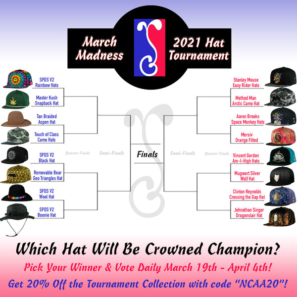 GRC's March Madness Hat Tournament Returns in 2021