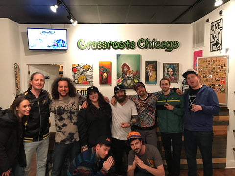 Sunsquabi Meet and Greet Grassroots Chicago