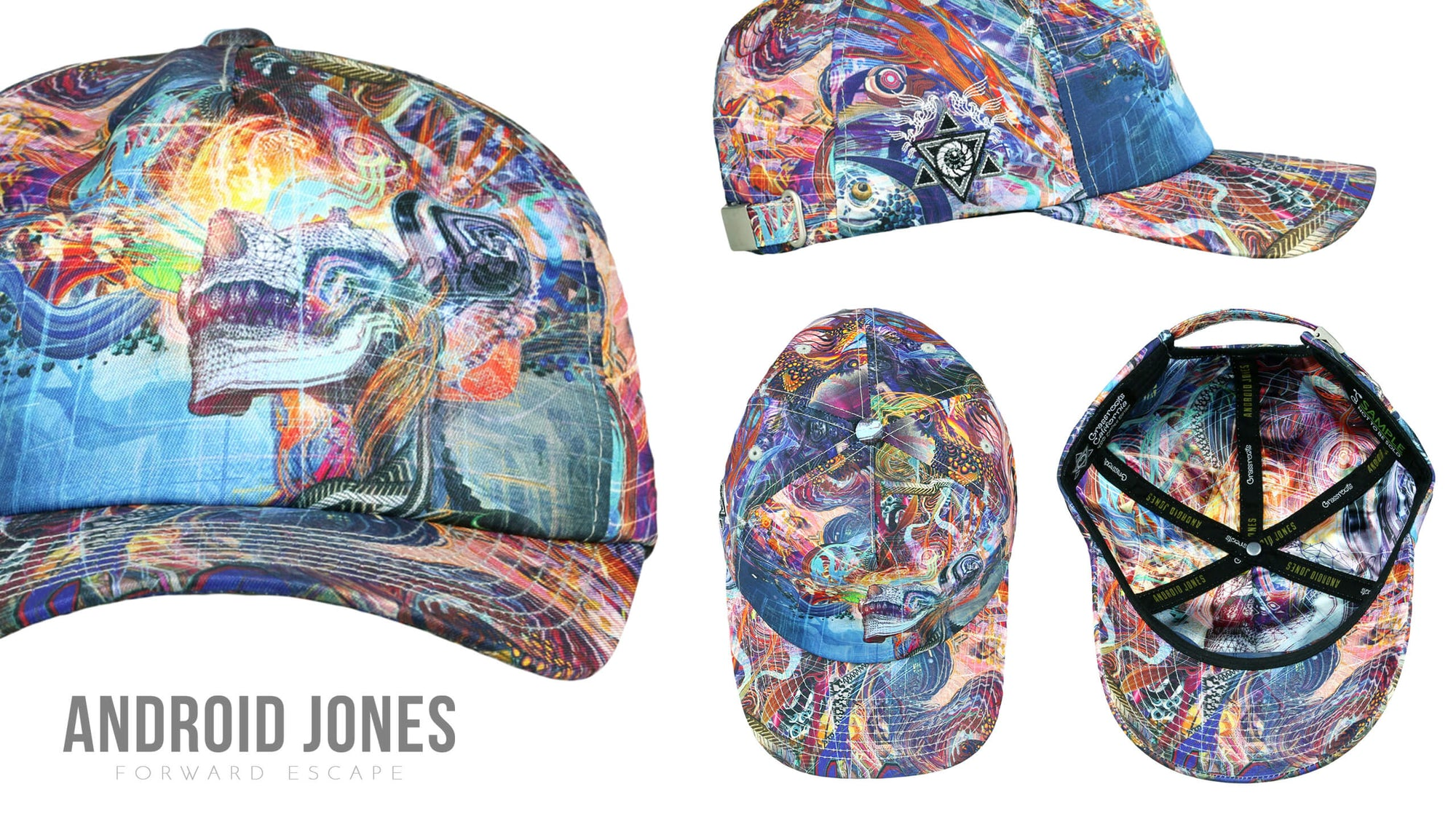 Android Jones Forward Escape Dad Hat 840777c822d