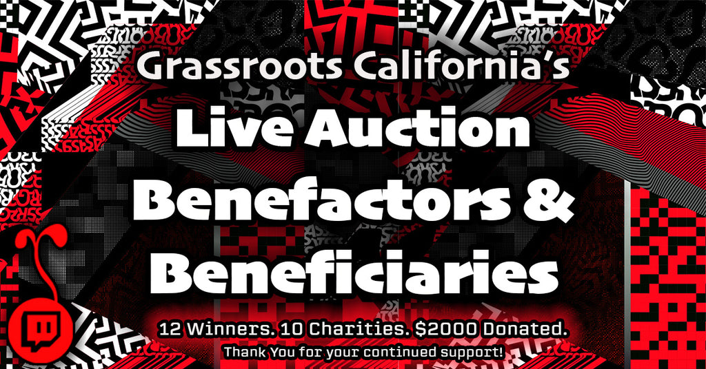 Grassroots Live Auction Results