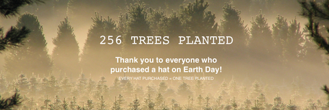 Earth Day One Tree Planted