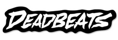 Deadbeats sticker
