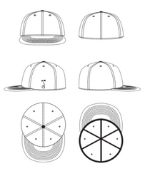 Grassroots California Hat Template