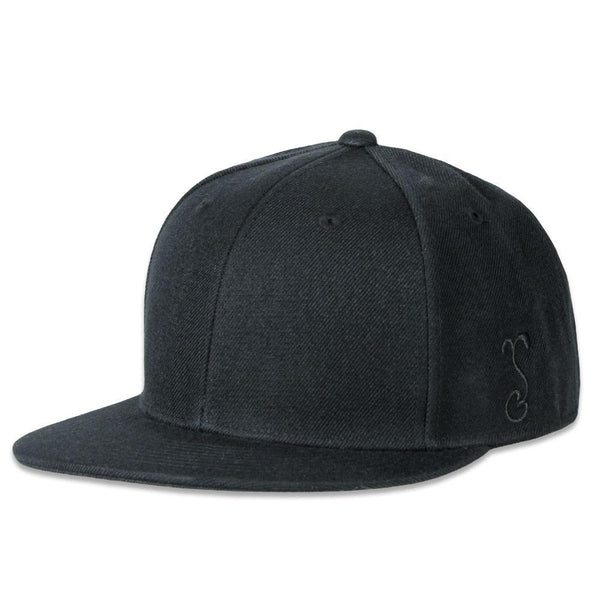 Touch of Class Black Fitted Hat