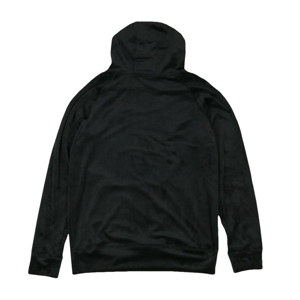 Royal Roots Velour Mens Black Pullover Hoodie