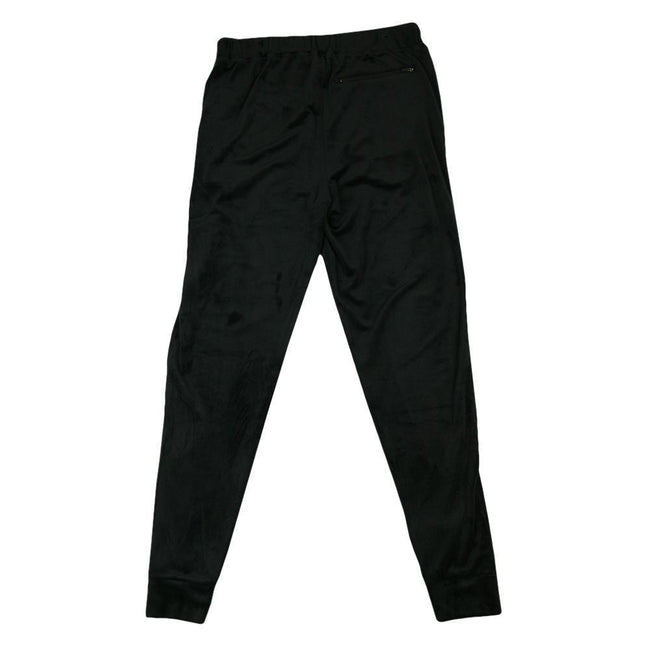 Royal Roots Velour Mens Black Sweatpants