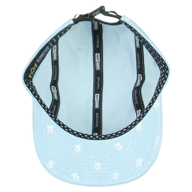Good Livin Pineapple Blue 5 Panel