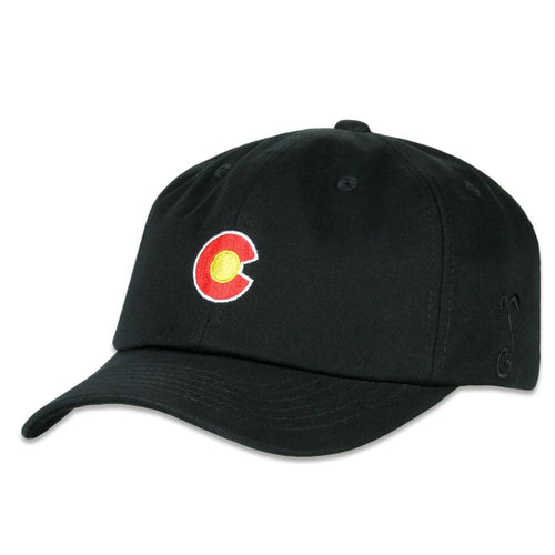 CO Flag Black Dad Hat