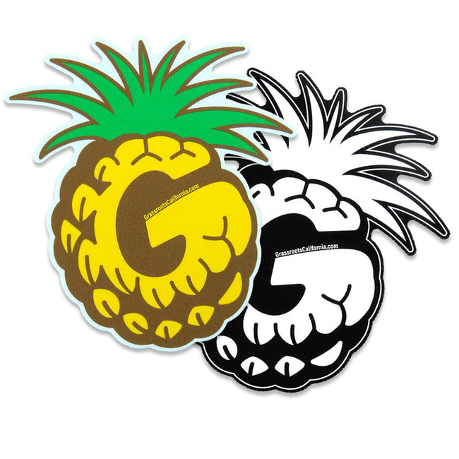 Good Livin Pineapple Sticker Combo