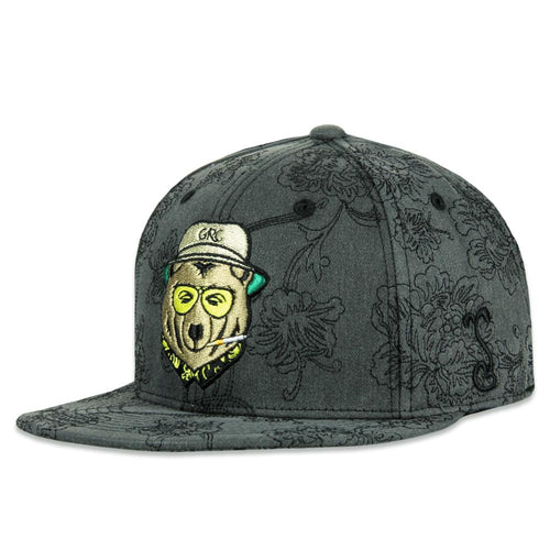 Vegas Bear All Over Gray Fitted