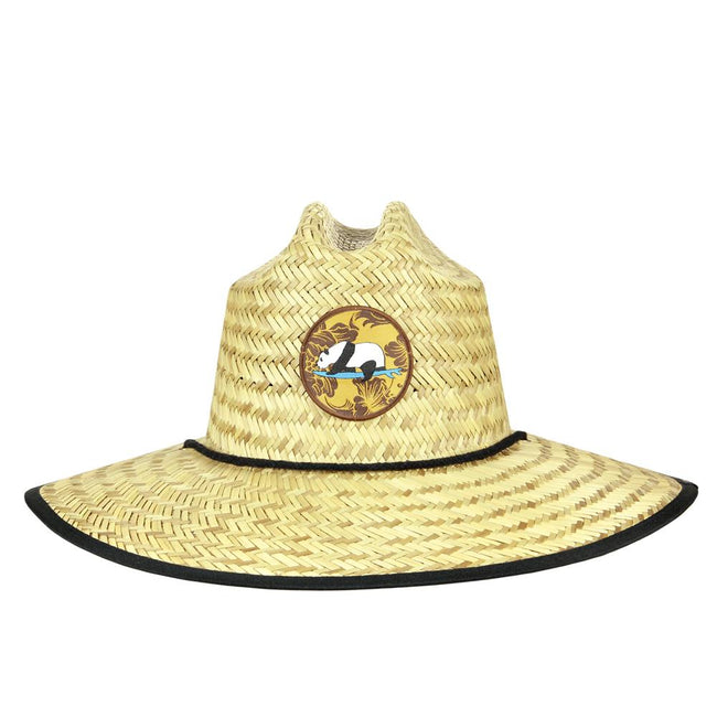 Surfing Panda Straw Hat