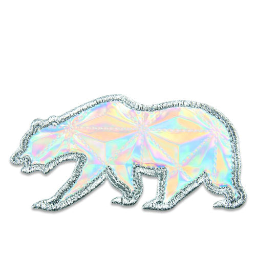 Rainbow Crystals Removable Bear Patch