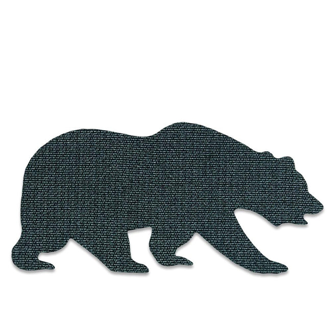La Playa Black Removable Bear Patch