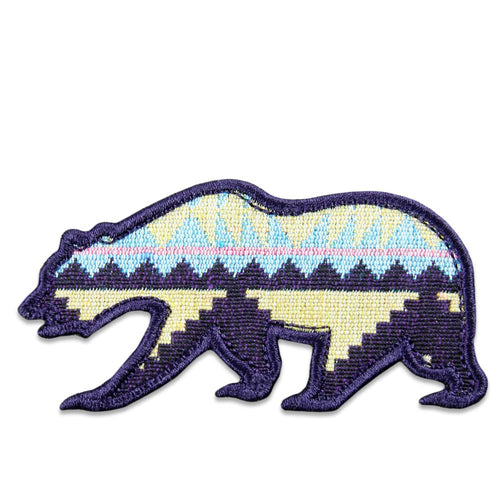 Sunrise Aztec Removable Bear Patch