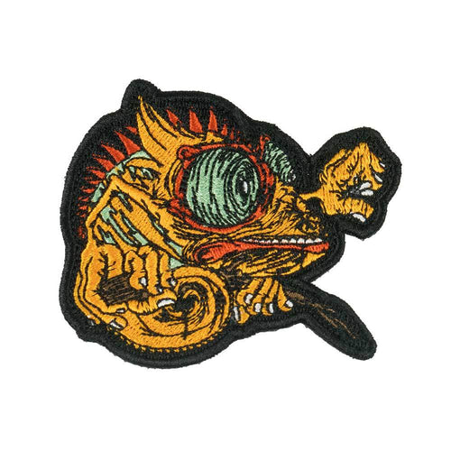 Aaron Brooks Orange Chameleon Patch