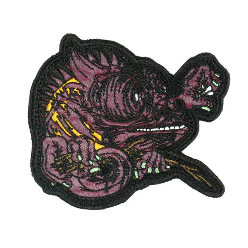 Aaron Brooks Lenticular Chameleon Patch