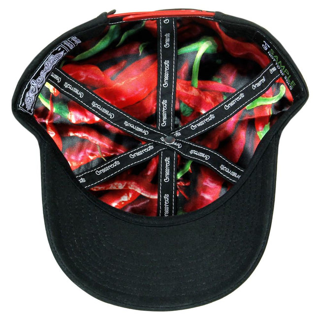 Hot Sauce Black Dad Hat
