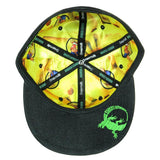Johnny Chimpo Black Hemp Fitted