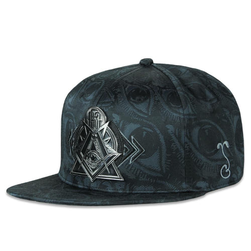 Secret Society Black Fitted