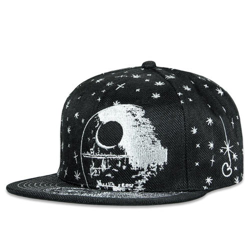 Team Death Star Silver Fitted