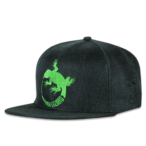 Broken Lizard Black Snapback