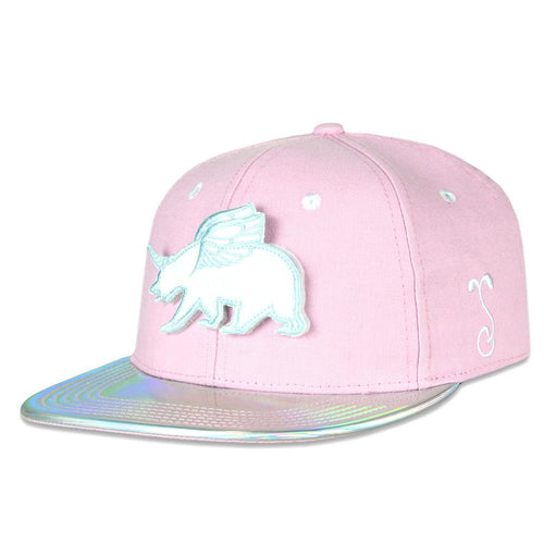 Kids Removable Unicorn Bear Rainbows Snapback