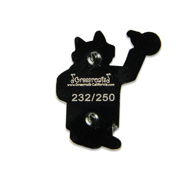 Chemistry Cat Pin