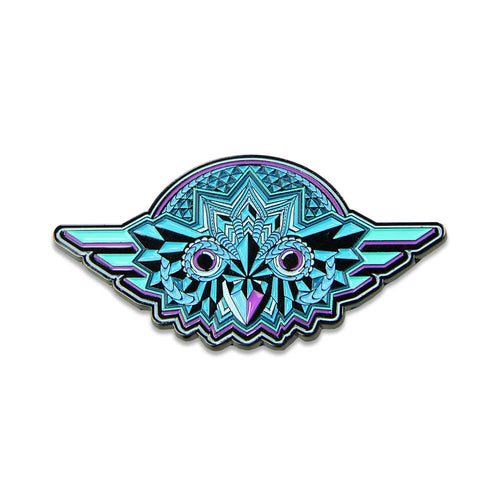 Night Owl Blue Pin