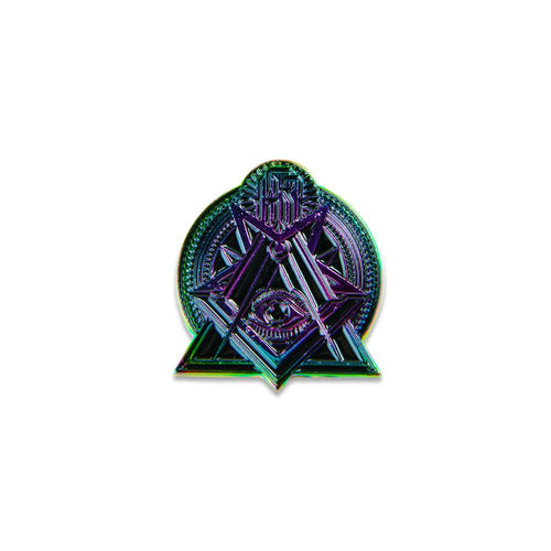 Secret Society Rainbow Pin