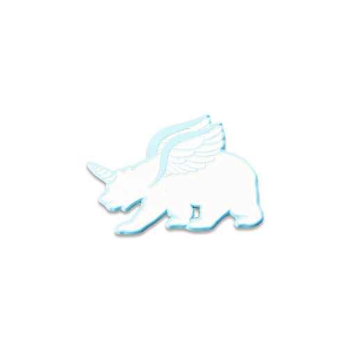 Unicorn Bear Glow Pin