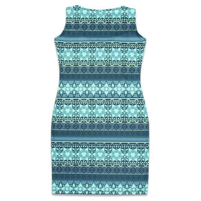 9th Anniversary Ocean Dress