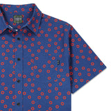 Allover Donut Navy Button Up Shirt