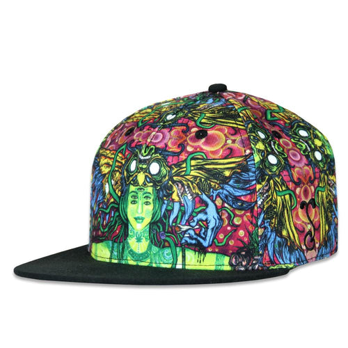 Sativa Goddess Allover Fitted Hat
