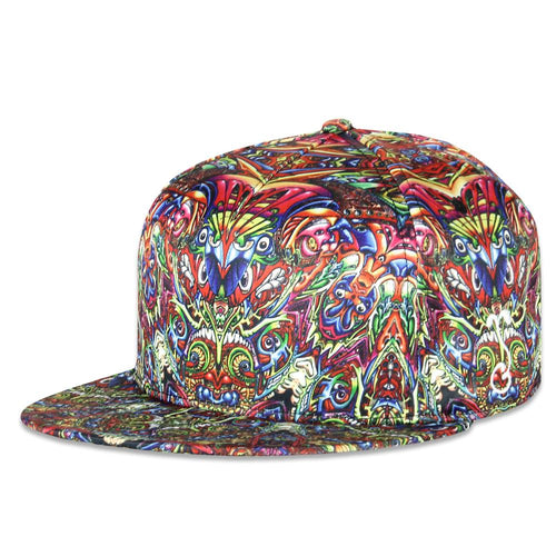 Luke Brown Fungalinguistic Snapback Hat