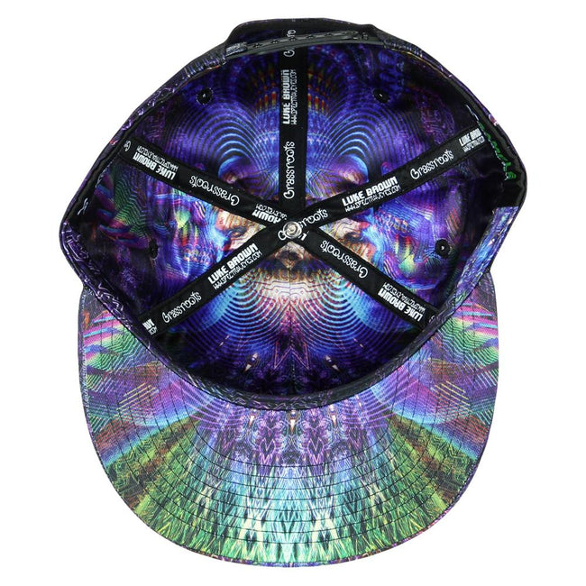 Luke Brown Toroidal Angel Snapback Hat