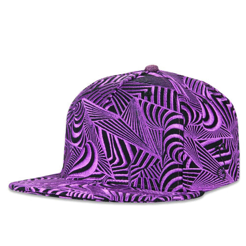 Psychonaut Purple Snapback Hat