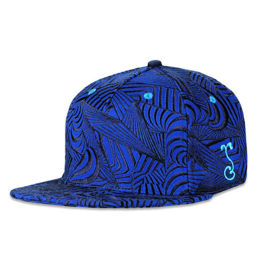 Psychonaut Blue Fitted Hat