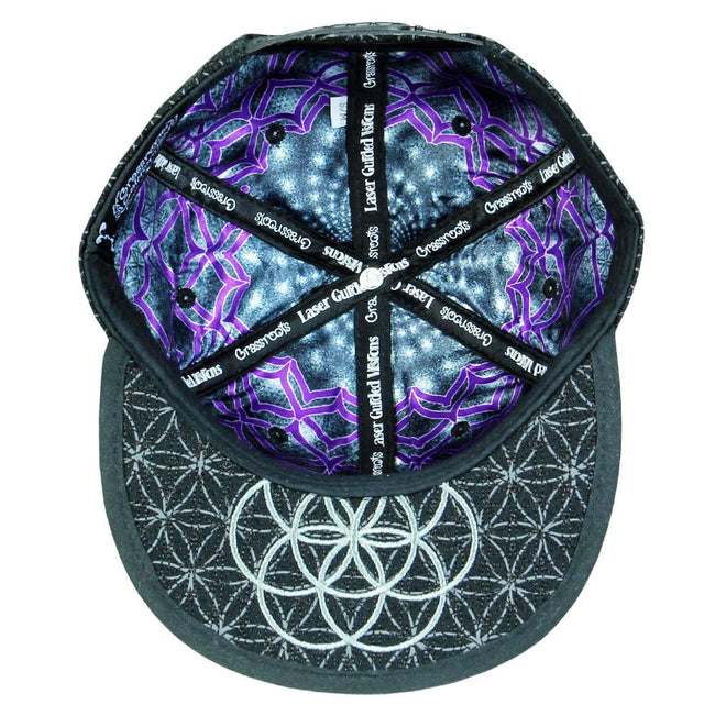 Laser Guided Visions 2018 Black Snapback Hat