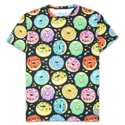 KGB Glass Rainbow Donuts T Shirt