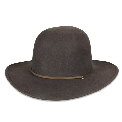 Aspen Brown Wool Hat