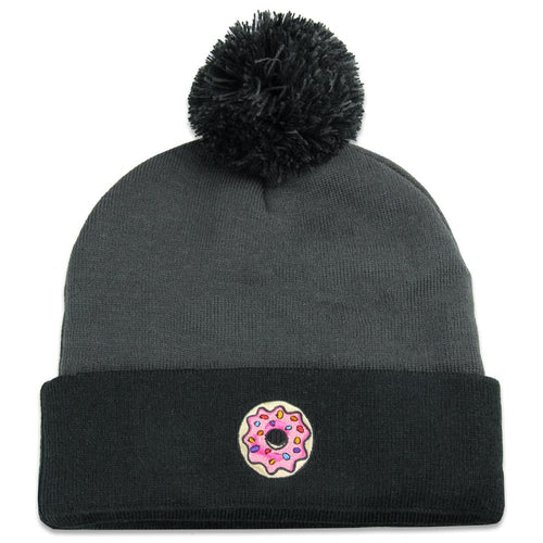 202d4d700a5 ... authentic kgb glass pink donut black beanie 84ee1 062b0
