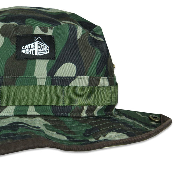 c2ffabb17752d Late Night Radio Camo Boonie Hat – Grassroots California