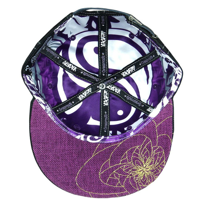 Unlimited Gravity 2018 Purple Green Strapback Hat