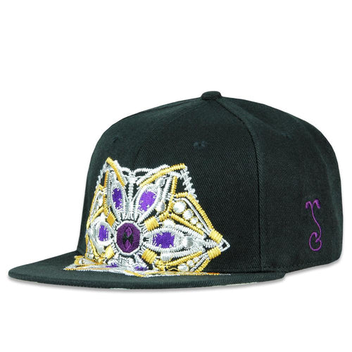 Jason Burruss Sacred Roots Black Snapback Hat