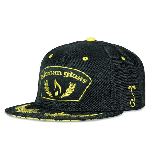 Hitman Glass Black V2 Snapback Hat